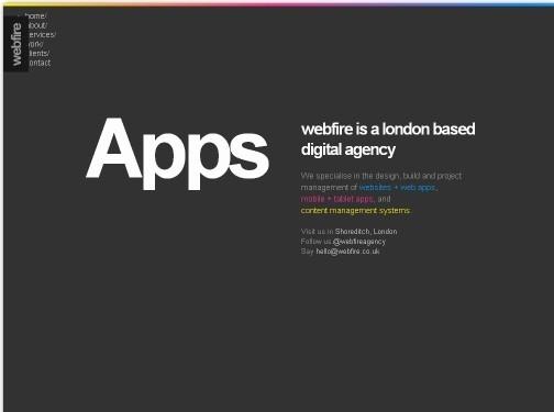 https://www.webfire.co.uk/home website