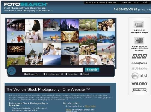 https://www.fotosearch.com/ website