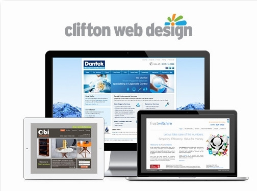 https://www.cliftonwebdesign.co.uk/ website